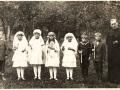 Biřmování kolem roku1930