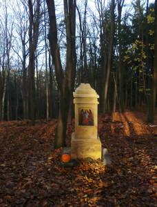 Kříž pod Lipovým vrchem - po renovaci