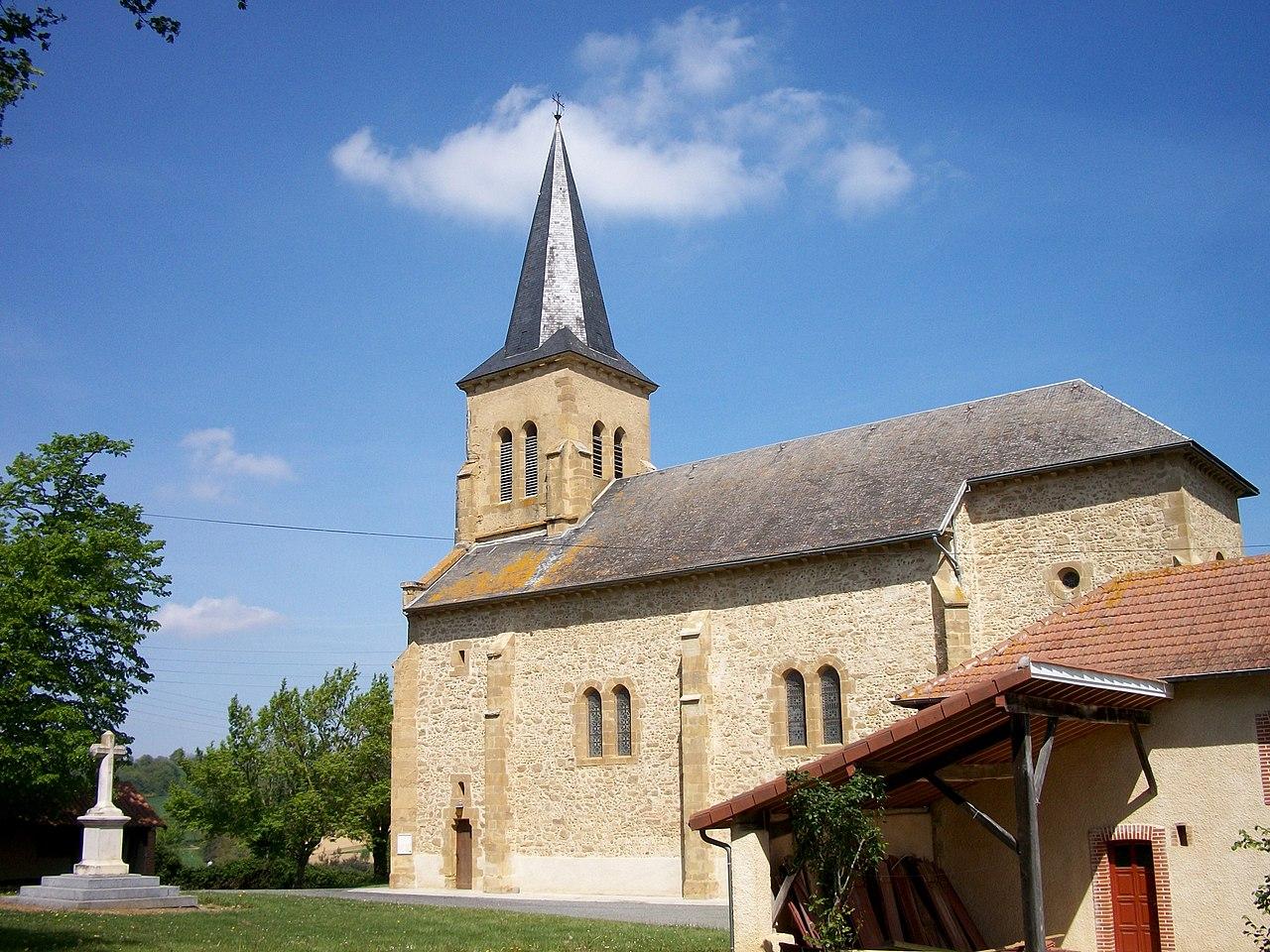 Pohled na kostel svatého Martina v Antinu Wikipedie